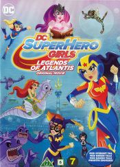 DC Superhero Girls: Legends of Atlantis DVD arvostelu kansi