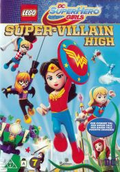 Super-Villain High DVD arvostelu kansi
